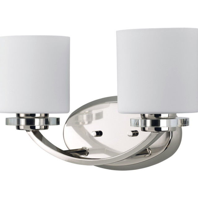 unique bathroom light fixture with outlet plug image-Contemporary Bathroom Light Fixture with Outlet Plug