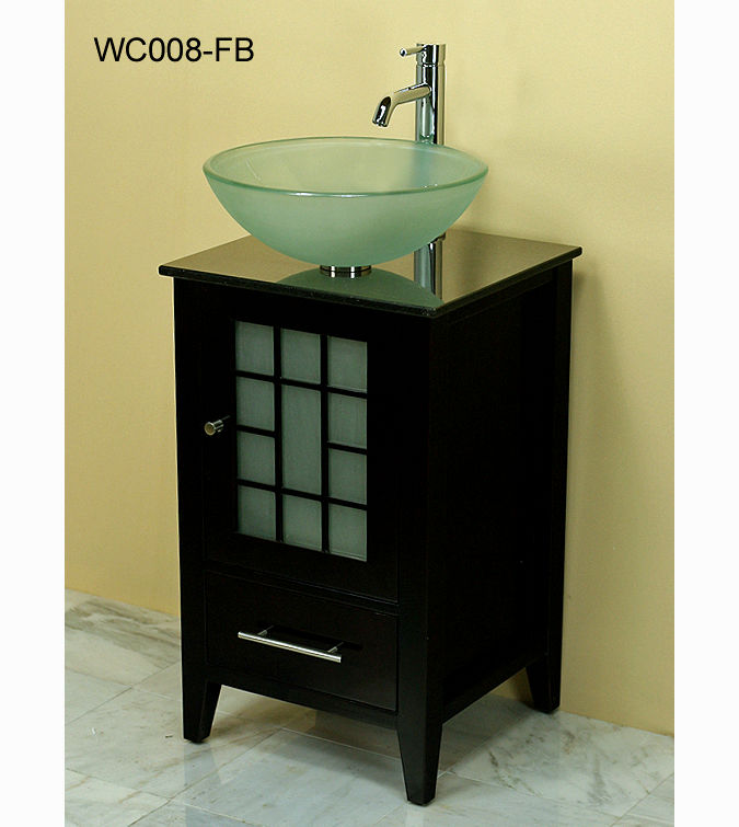unique bathroom sink with vanity photo-Modern Bathroom Sink with Vanity Décor