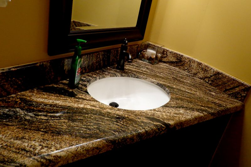 unique bathroom vanity top pattern-Fancy Bathroom Vanity top Photo