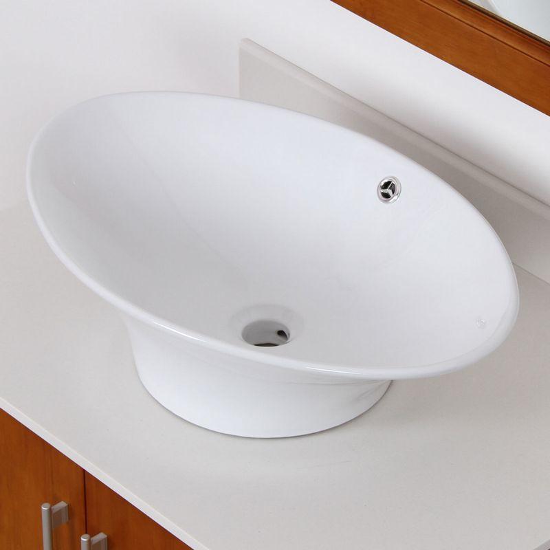 unique oval bathroom sinks pattern-Amazing Oval Bathroom Sinks Decoration