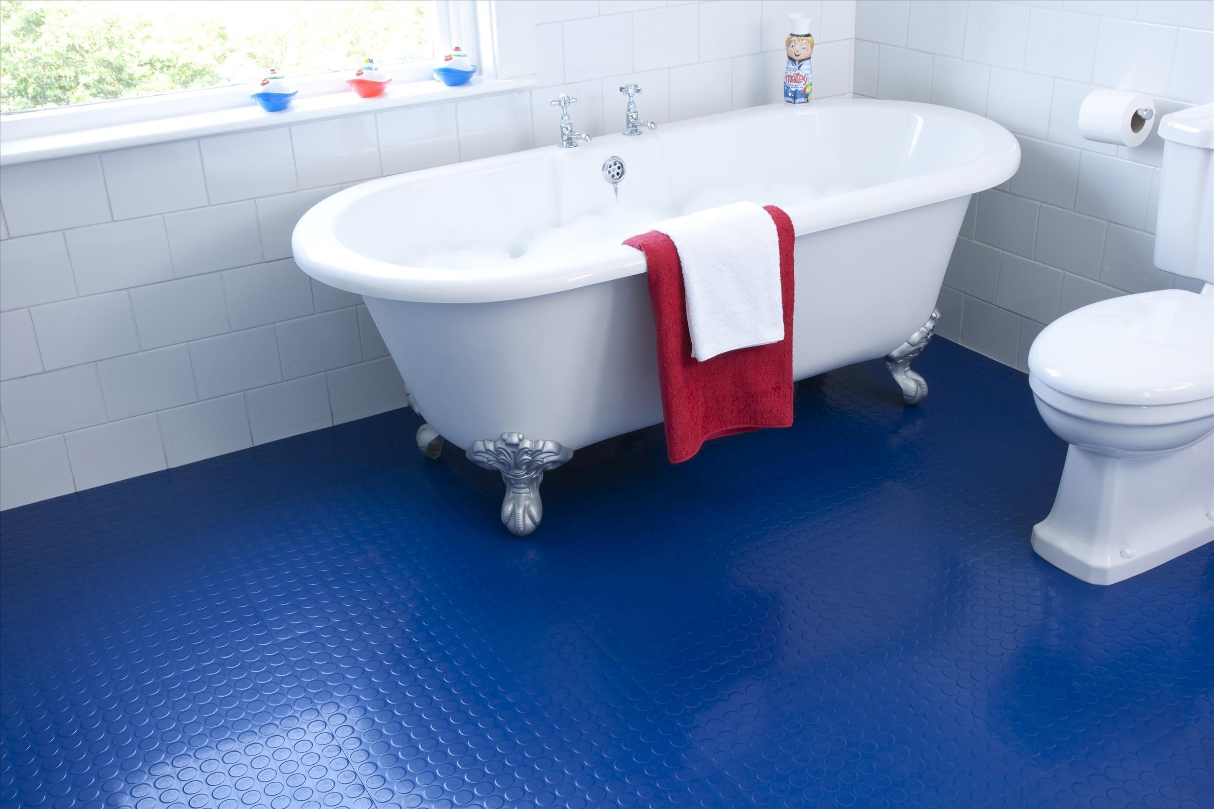 Waterproof Bathroom Walllpaper: Stylish Waterproof Bathroom Flooring Décor