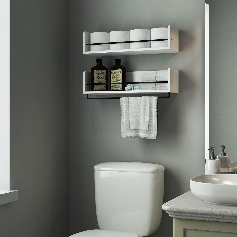 White Bathroom Shelves Fascinating Endearing Cottage Bathroom Storage Cabinet Hgtv In Shelf Inspiration