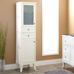 White Linen Cabinet for Bathroom Beautiful White Linen Cabinet for Bathroom Bathroom Cabinets Construction