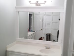 White Mirrors for Bathroom Stylish Bathroom Mirror with White Frame Bathroom Mirrors Inspiration