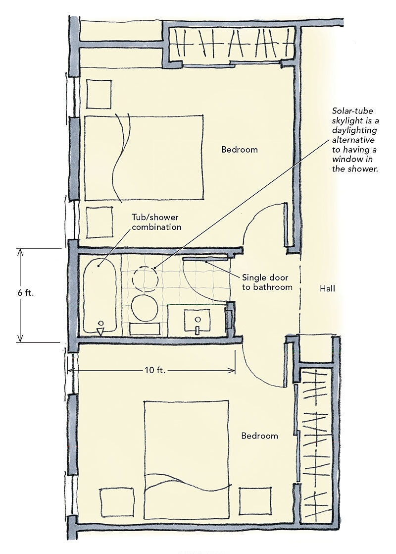 wonderful house plans with jack and jill bathroom design-Finest House Plans with Jack and Jill Bathroom Model