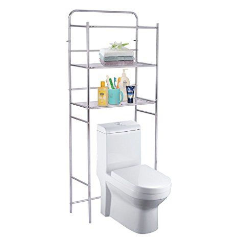 elegant 3 tier bathroom shelf portrait-Modern 3 Tier Bathroom Shelf Design