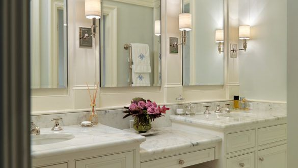 fascinating bathroom vanity with makeup station wallpaper-Excellent Bathroom Vanity with Makeup Station Layout