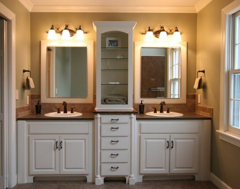unique lowes bathroom vanity mirrors gallery-Stunning Lowes Bathroom Vanity Mirrors Photo