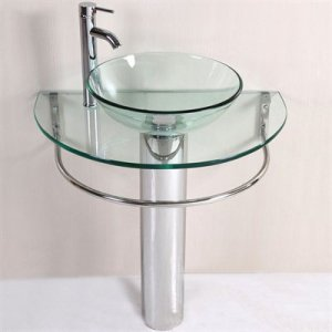 Bathroom Sink Glass Bowl