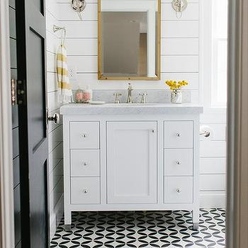 Black And White Bathroom Floor Tile Designs - Home Sweet ...