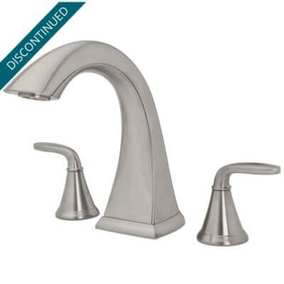Brushed Nickel And Gold Bathroom Fixtures