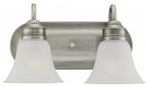 Brushed Nickel Bathroom Ceiling Light Fixtures