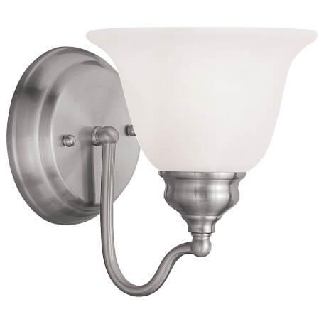Brushed Nickel Bathroom Wall Light Fixtures