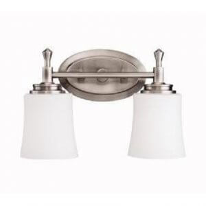 Brushed Nickel Light Fixtures For Bathroom
