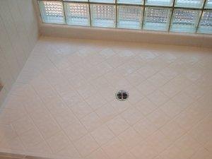 Clean Bathroom Tile Floor