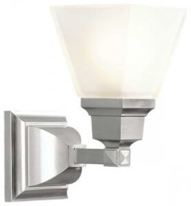 Contemporary Bathroom Lighting Fixtures Brushed Nickel