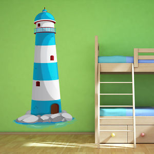 Fantastic Lighthouse Bathroom Set Collection
