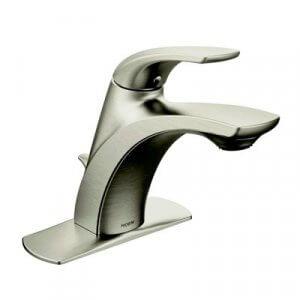 Moen Brushed Nickel Bathroom Fixtures