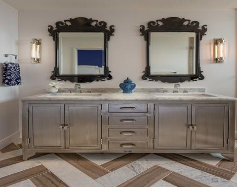 New Silver Bathroom Vanity Ideas