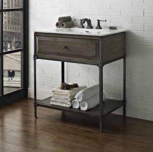 Open Bathroom Vanity Ideas
