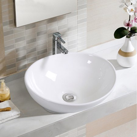 Oval Bathroom Sink Bowl