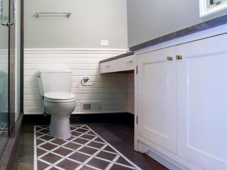 Painting Bathroom Tile Floor Bathroom Design Ideas Gallery Image