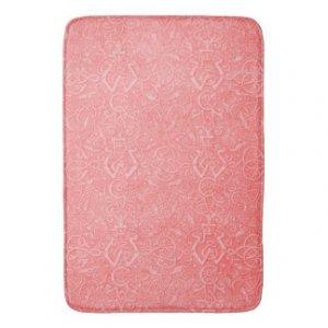 Peach Bathroom Rugs