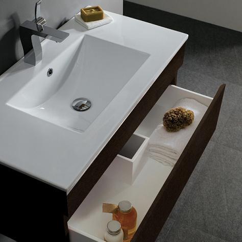 Shallow Bathroom Sink Cabinet