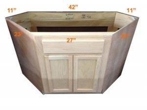 Small Corner Bathroom Sink Base Cabinet