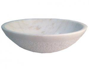 Top Mount Bathroom Sink Bowl