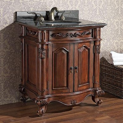 Vintage Bathroom Vanity Sink Cabinets