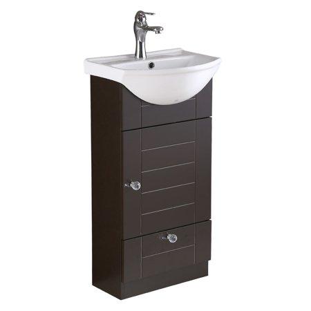 White Bathroom Sink Cabinet