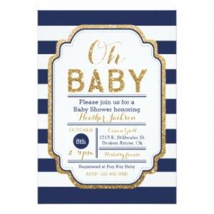 Baby Boy Shower Invitations