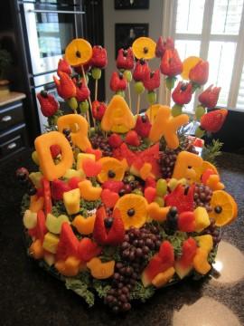 Baby Shower Fruit Basket