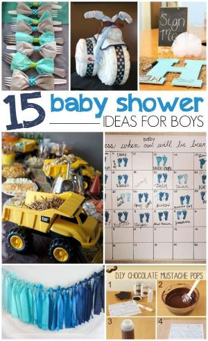 Baby Shower Ideas For Boy