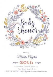 Baby Shower Invitations Free