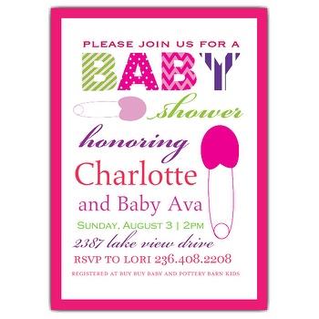 Baby Shower Invitations Wording