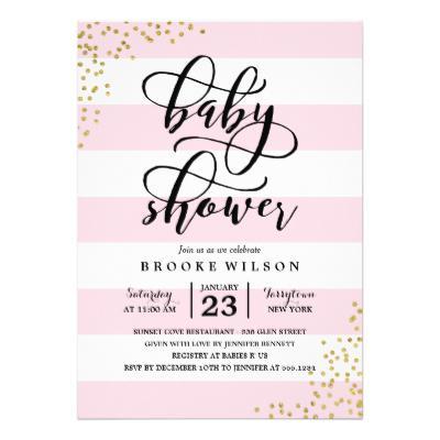 Baby Shower Invite