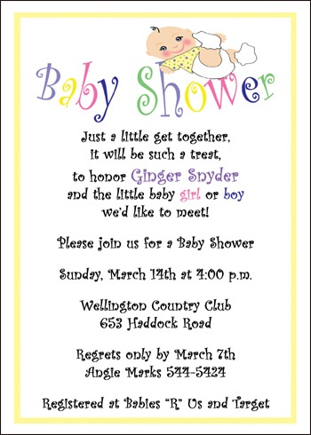 baby shower invite wording bathroom design ideas gallery image and