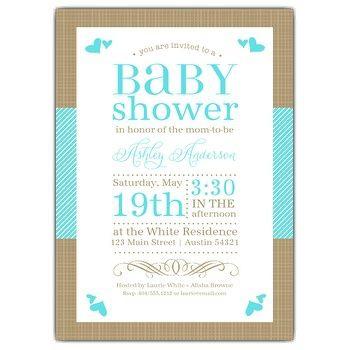 Baby Shower Invite Wording
