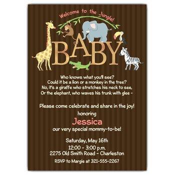 Baby Shower Invites Wording