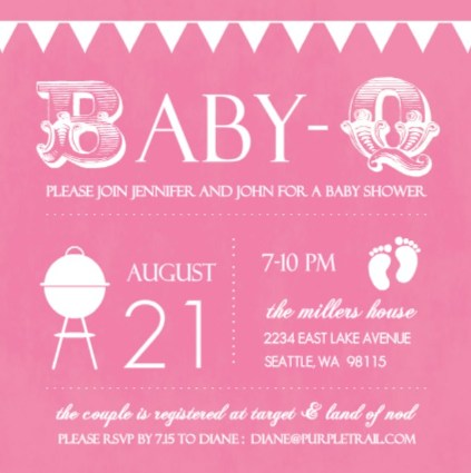 Baby Shower Invites Wording