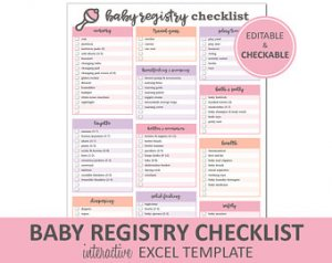 Baby Shower Registry Checklist Bathroom Design Ideas Gallery Image