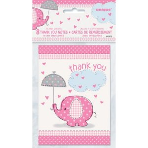 Baby Shower Thank You Notes