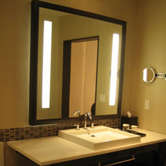 Bathroom Lighting And Mirrors