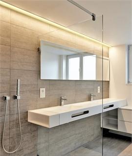 Bathroom, Bedroom, Ligtingroom, Kitchen