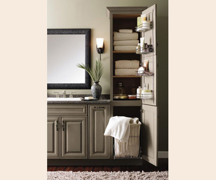 Beautiful Bathroom Linen Cabinets Portrait Bathroom Design Ideas