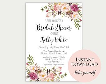 By Http Www Prettypaperinvitations Media Catalog Product Cache 1 Image 400 9df78eab33525d08d6e5fb8d27136e95 B R Bridal Shower Invites 08e 800 Jpg