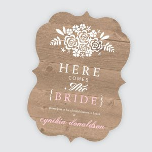 Bridal Shower Invitations Cheap