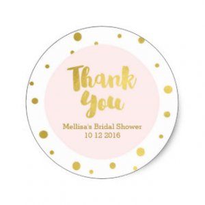 Bridal Shower Thank You